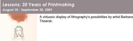 Lessons: 30 Years of Printmaking